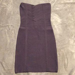 Bebe hyacinth bandage bodycon tube dress xs